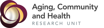 Aging, Community and Health Research Unit (ACHRU) Logo